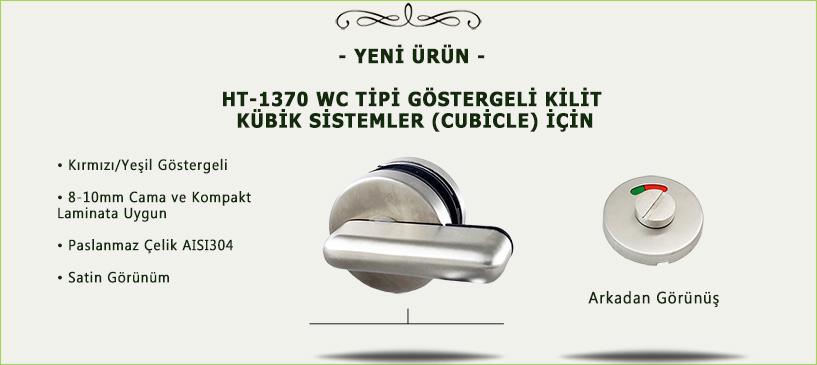 wc tipi cam kapı kilidi mandallı göstergeli paslanmaz satin 1370