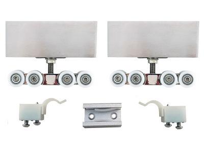 sürme sürgü cam kapı sistemi paslanmaz çelik seti 8450