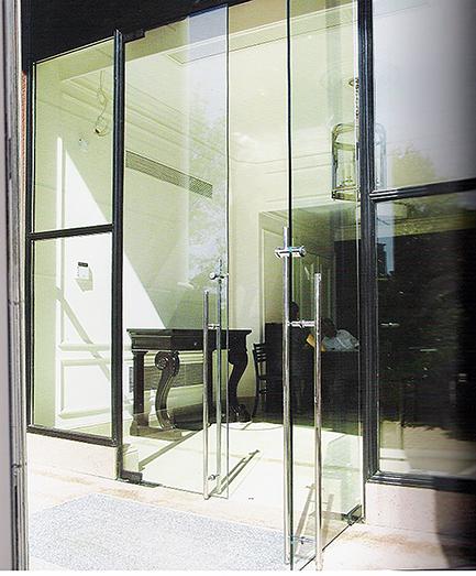 cam kapı kolu kilitli çekme silindir paslanmaz montaj 5301