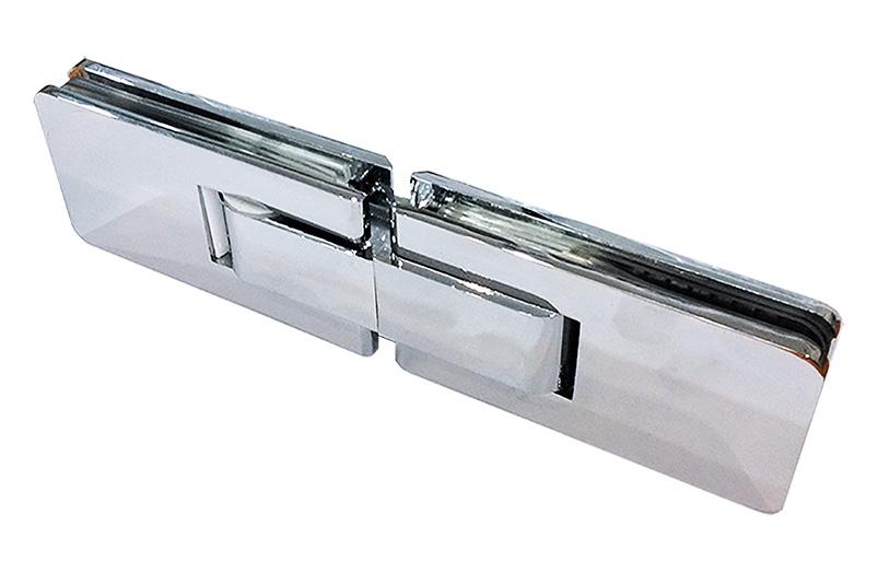 cam kapı menteşesi duşakabin paraduş yaylı cam cama pirinç parlak 3013
