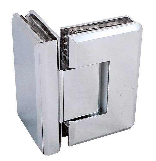 cam kapı menteşesi duşakabin paraduş yaylı cam cama pirinç parlak 3054