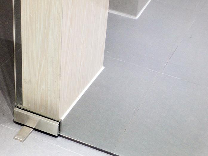 hidrolik cam kapı menteşesi pnömatik yavaş kapanan zemini kırmadan thoor paslanmaz montaj 6301