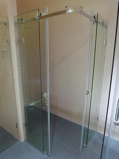 sürme sürgülü kayar cam kapı sistemi duşakabin paslanmaz montaj 8211