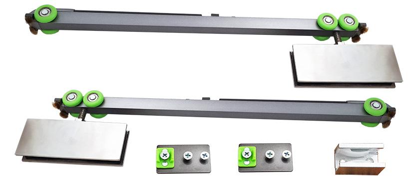 sürme sürgülü kayar cam kapı sistemi yavaş kapanan paslanmaz soft 8450