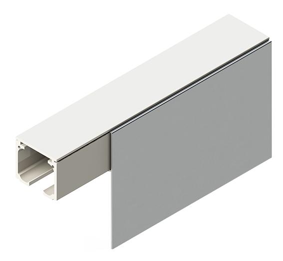sürme sürgülü kayar cam kapı sistemi yavaş kapanan paslanmaz soft ray 8450